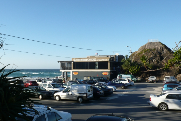 Currumbin Surf Club on the Gold Coast