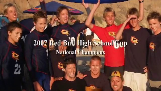 San Dieguito Academy 2008 team, NSL Game Regional Champions.  Left to right: Nick Suhadolink, Ryan Burch, Dave Suhadolink, Eric Snortum, Corey, Jeremy Sherwin, Brad Hugglund, Oly Norris, Nick Olsen, JD Lewis and Sneed.